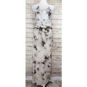 Rolla Coster Sleeveless Tie Dye Maxie Dress